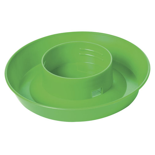 View larger image of Plastic Screw-On Poultry Waterer Base for Quart Jar
