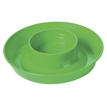 Plastic Screw-On Poultry Waterer Base for Quart Jar