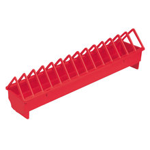 Plastic Trough Poultry Feeder