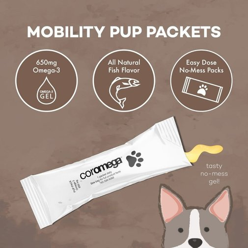 View larger image of Pup Packets Omega-3 Supplement