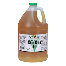Pure Rice Bran Oil Horse Supplement