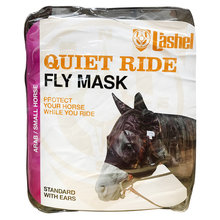 Quiet Ride Standard Nose Pasture Fly Mask with Ears