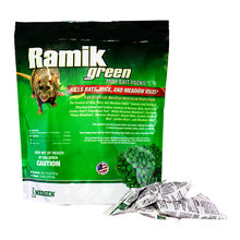 Ramik Green Mini Bait Packs for Rats and Mice