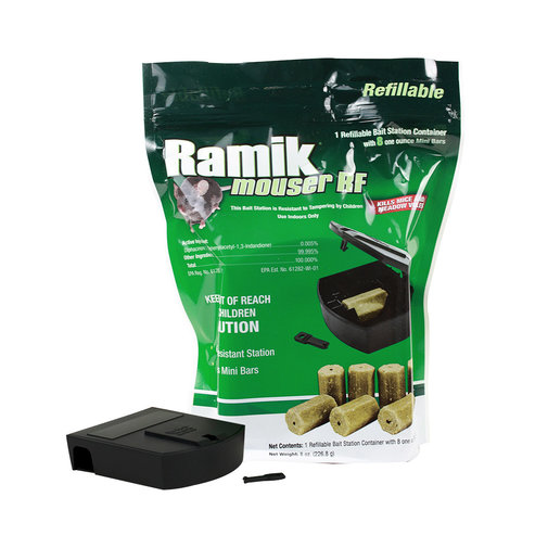View larger image of Ramik Mouser RF Refillable Bait Station