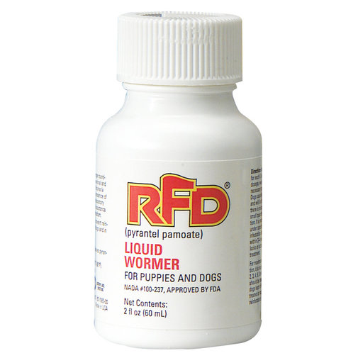 View larger image of RFD Liquid Wormer for Dogs
