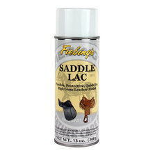 Saddle Lac Leather Finish