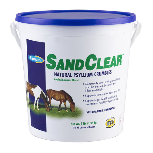 View larger image of SandClear Natural Psyllium Crumbles