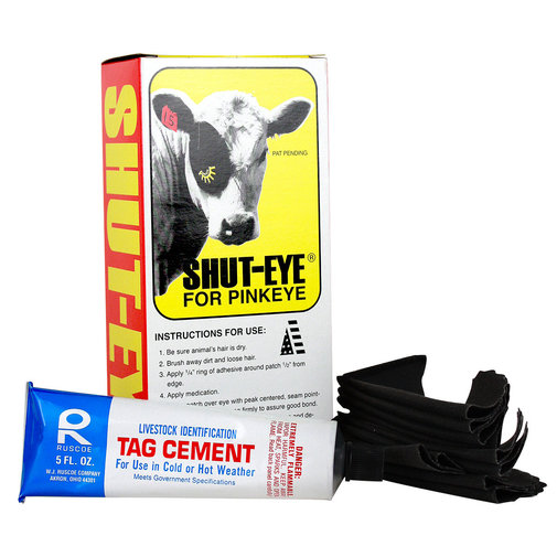 View larger image of Shut-Eye Pinkeye Patches for Cattle