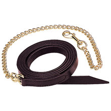 Single-Ply Leather Horse Leads