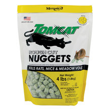 Tomcat Rough Cut Rat, Mouse and Meadow Vole Bait Nuggets
