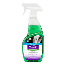 Vetrolin Green Spot Out Spray-On Dry Clean Horse Shampoo
