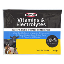 Vitamins & Electrolytes Concentrate for Livestock and Horses