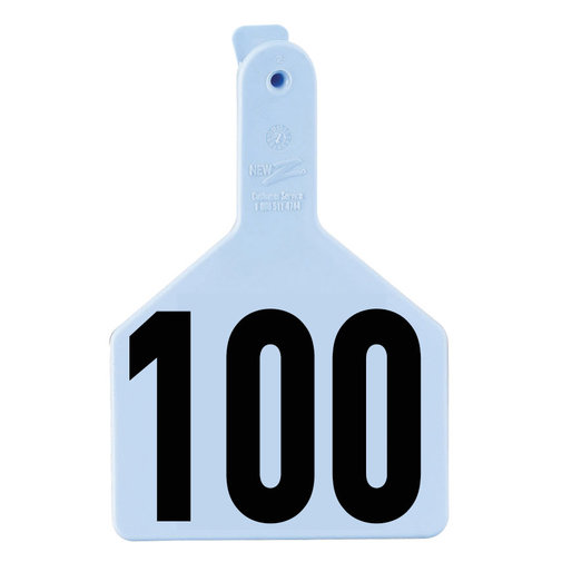 View larger image of Z1 No-Snag Numbered Cow Tags