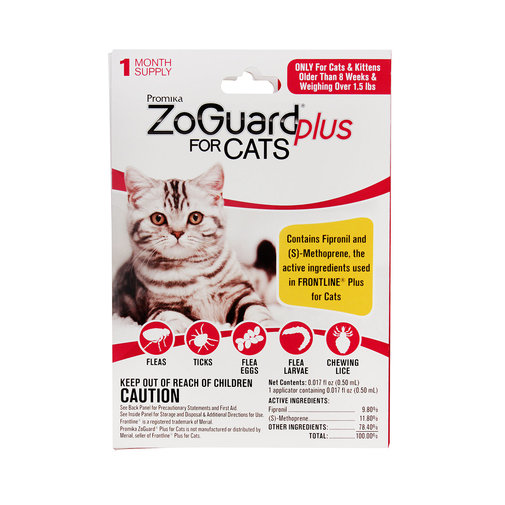 View larger image of ZoGuard Plus Flea and Tick Protection for Cats